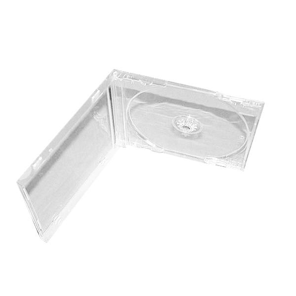 Футляр для 1CD 10 мм (прозрачный) 200 шт