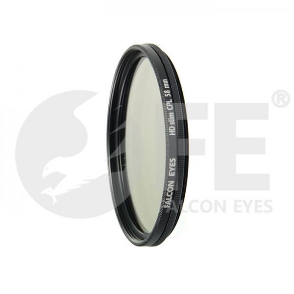 Светофильтр Falcon Eyes HDslim CPL 58 mm...