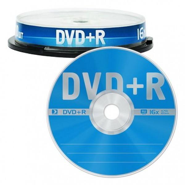 Диск DVD+R 4.7GB 16x (Data Standard) (13...