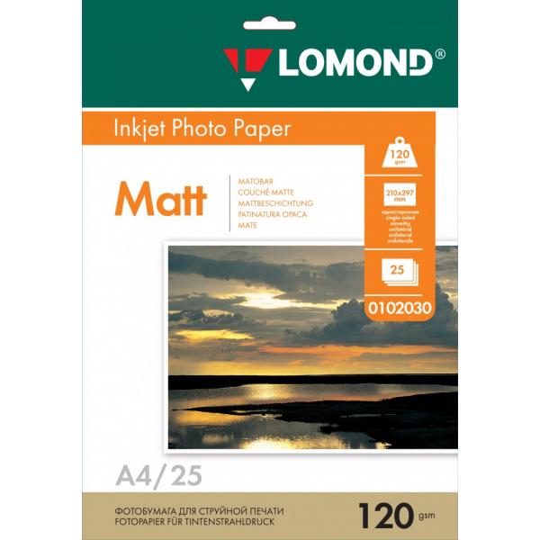 Бумага Lomond матовая односторонняя A4 1...