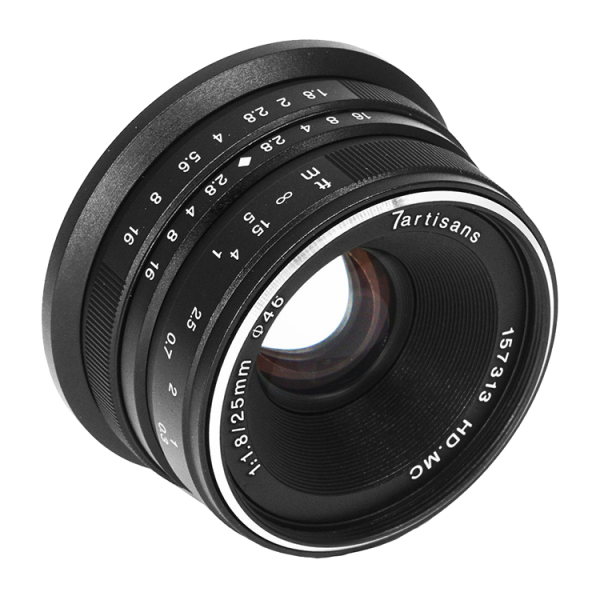 Объектив 7Artisans 25mm F/1.8 X-mount Bl...