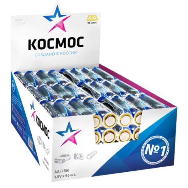 Элементы питания КОСМОС AA LR6 4 шт (KOC...