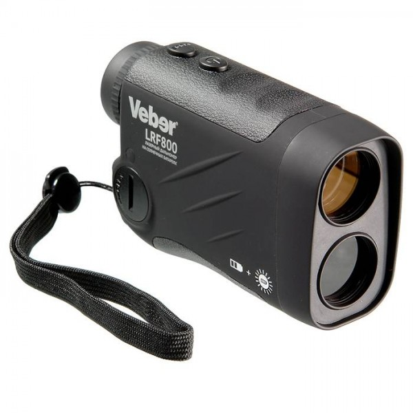 Лазерный дальномер Veber 6x25 LRF800 bla...
