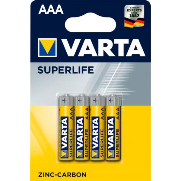 Элемент питания VARTA R03/AAA SuperLife ...
