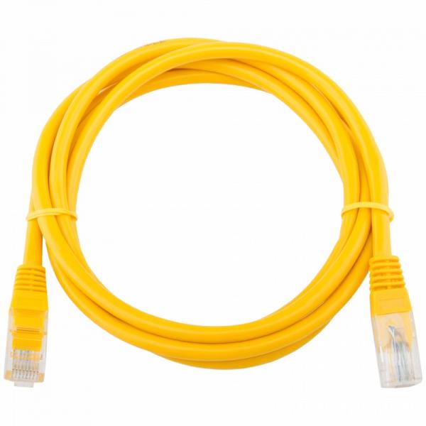 Патч-корд Telecom UTP 5E 1.5m литой желт...