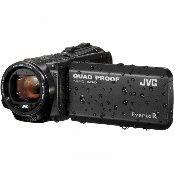 Видеокамера JVC GZ-R405BEU черный