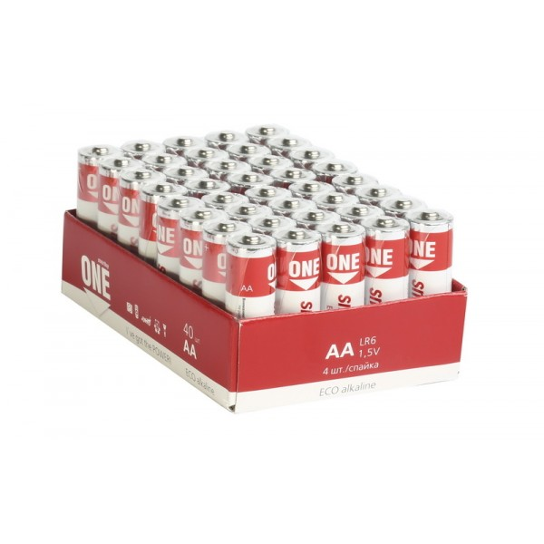 Элемент питания Smartbuy One LR6/AA Bulk...