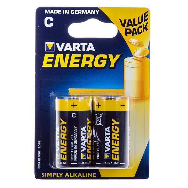 Элемент питания VARTA C (LR14) Energy BL...