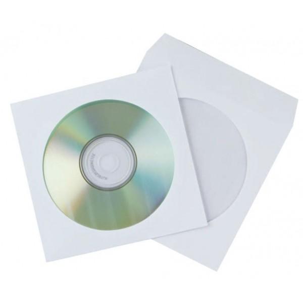 Конверт для дисков ST с окном / без клея...