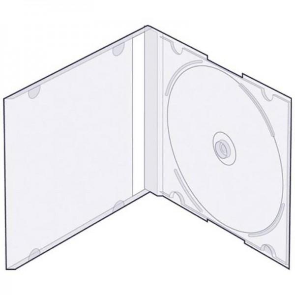 Футляр ST для 1-x CD 5mm Slim прозрачный...