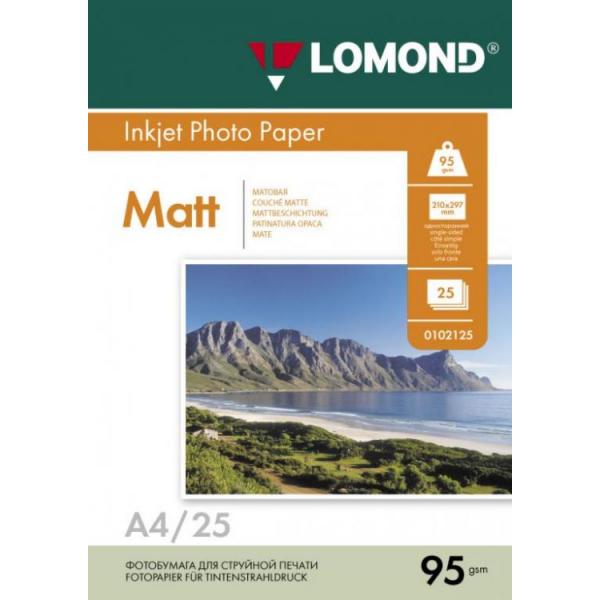 Бумага Lomond матовая односторонняя A4 9...