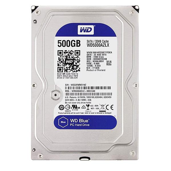 Жесткий диск HDD Western Digital 500GB 3...