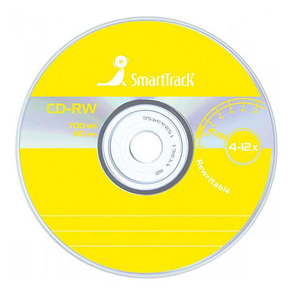 Диск SmartTrack CD-RW 700Mb 80 мин 4-12x...