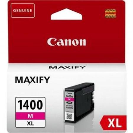 Картридж Canon PGI-1400XL M для MAXIFY МВ2040 и МВ2340. Пурпурный. 780 страниц. 9203B001