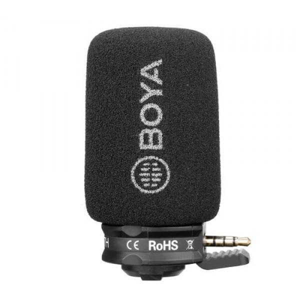 Микрофон Boya BY-A7H для смартфона