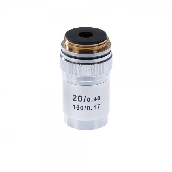 Объектив для микроскопа 20х/0,4 160/0,17...