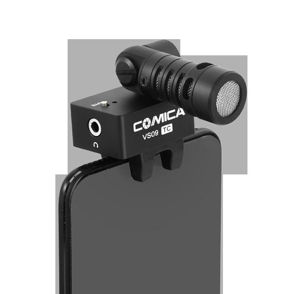 Микрофон Comica VS09 для смартфона Type-...