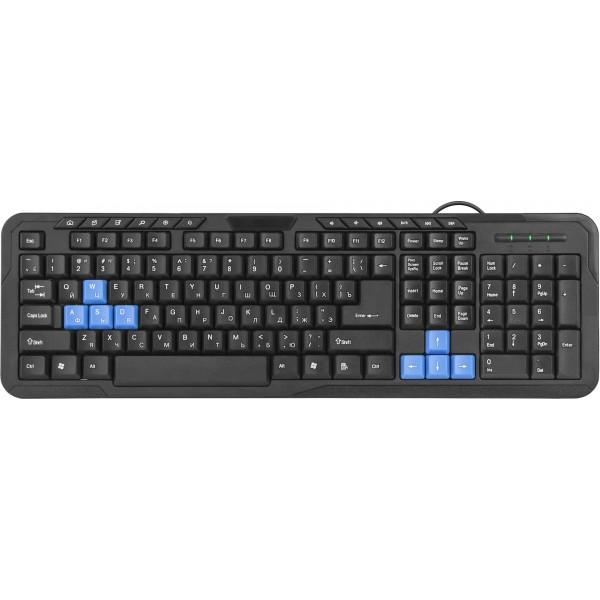 Проводная клавиатура Defender #1 HM-430 ...