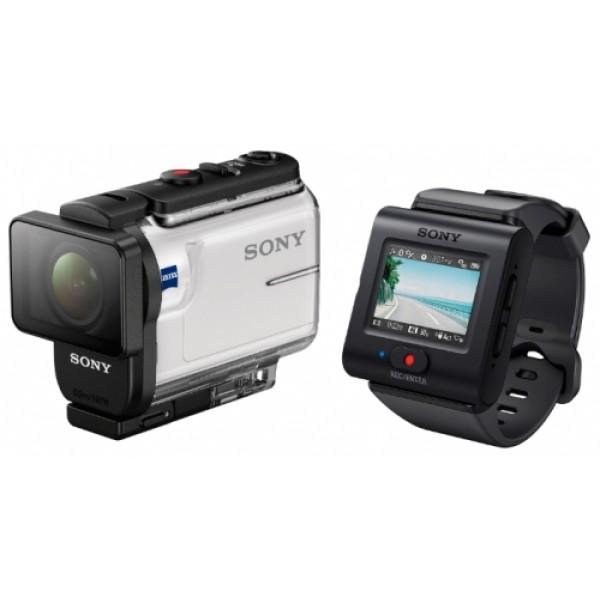 Экшн-камера Sony HDR-AS300R (аквабокс + ...