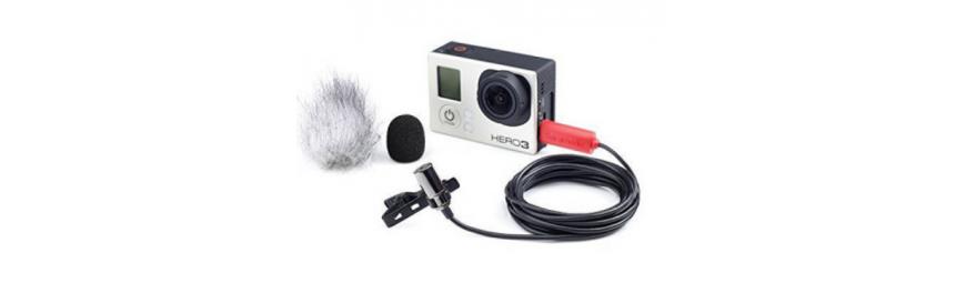 Внешние микрофоны для экшн камер