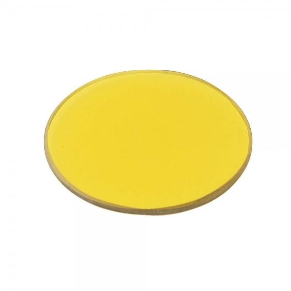 Фильтр для микроскопов желтый D 32 мм, 1...