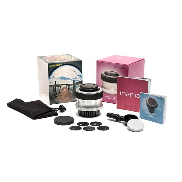 Объектив Lensbaby Scout with Fisheye for...