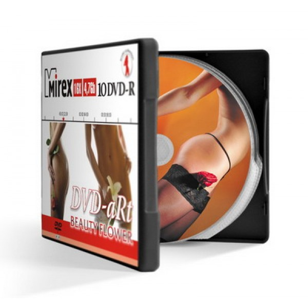 Диск Mirex DVD-R 4.7 GB Beauty Flower 16...