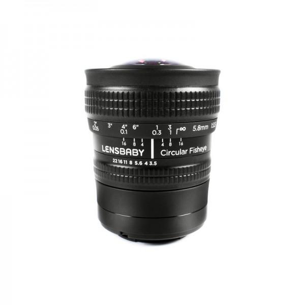 Объектив Lensbaby 5.8mm f/3.5 Circular F...
