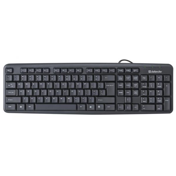 Проводная клавиатура Defender Element HB...
