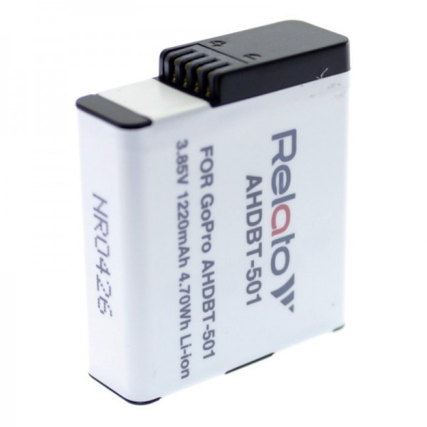 Аккумулятор для экшн-камеры Relato AHDBT...