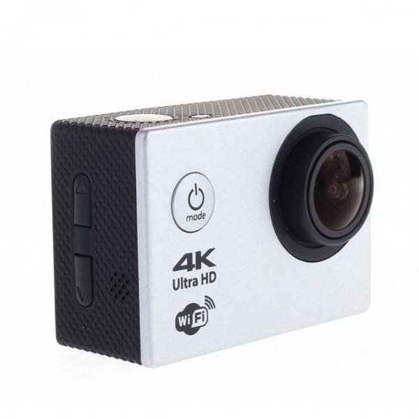Экшн-камера Prolike 4K (Серебристая)