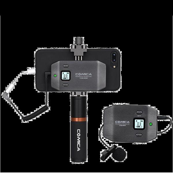 Микрофон COMICA UHF CVM-WS50 (B) для сма...