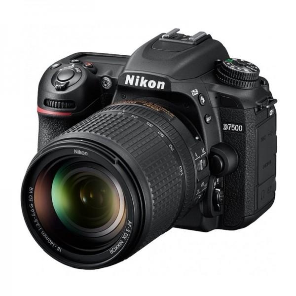 Зеркальный фотоаппарат Nikon D7500 kit 1...