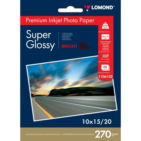 Фотобумага Lomond Super Glossy односторо...