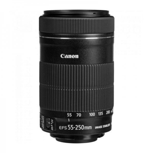 Объектив Canon EF-S 55-250mm f/4-5.6 IS ...