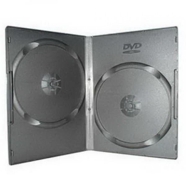 Футляр ST для 2DVD 7mm Slim Black (BX000...
