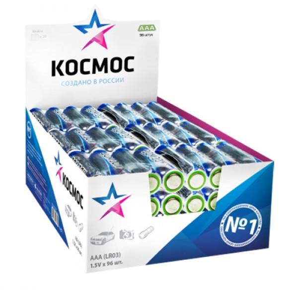 Элементы питания КОСМОС AAA LR3 4 шт (KO...