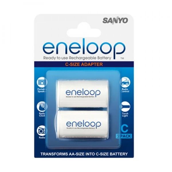 Адаптер SANYO Eneloop AD-C-2BP тип C, 2 ...