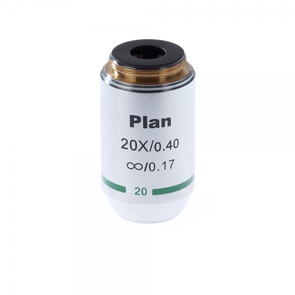 Объектив для микроскопа 20х/0,4 Plan Л б...
