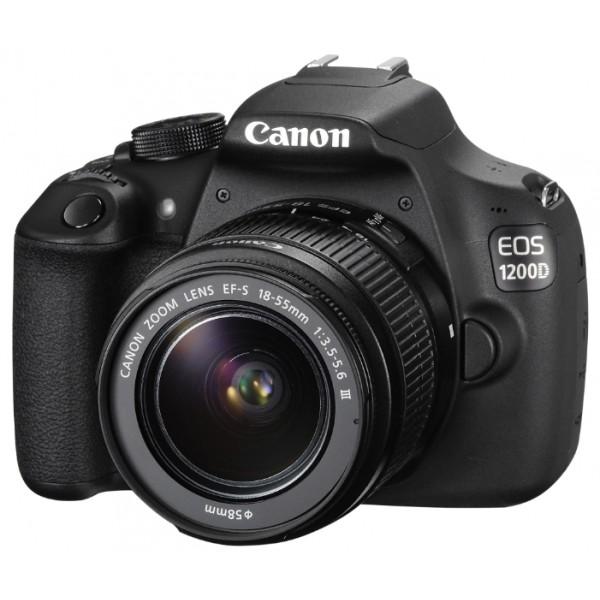 Зеркальный фотоаппарат Canon EOS 1200D k...