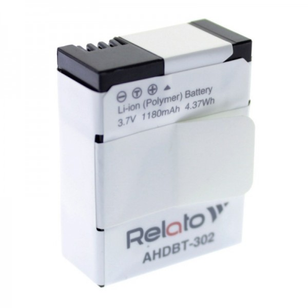 Аккумулятор для Action Camera Relato AHD...