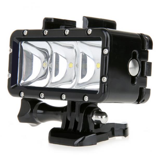 Водонепроницаемый LED свет для Gopro, Ht...