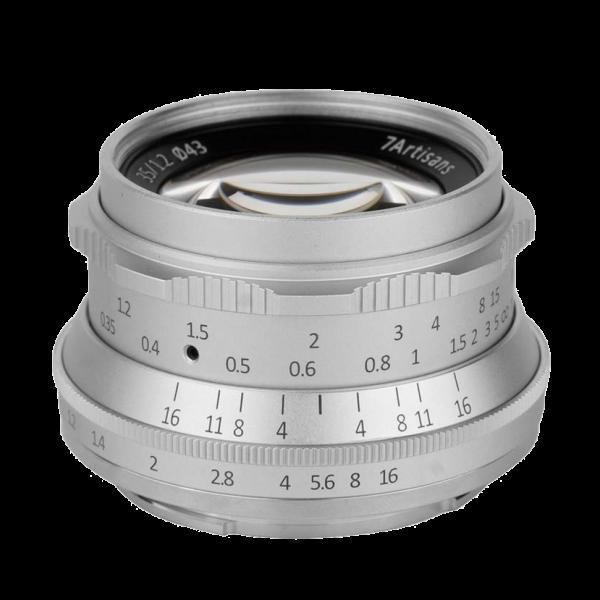 Объектив 7Artisans 35mm F1.2 Sony E-moun...
